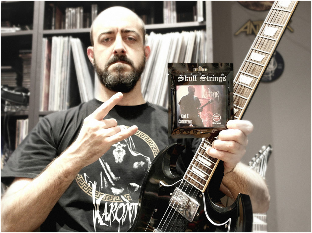 skull strings endorsement -kini - karonte